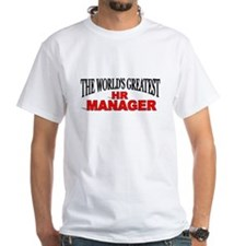 """The World's Greatest HR Manager"" Shirt"