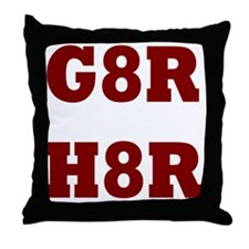 G8Rd Throw Pillow