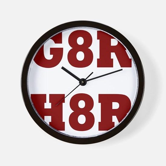 G8Rd Wall Clock
