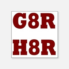 "G8Rd Square Sticker 3"" x 3"""