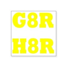 "G8R Square Sticker 3"" x 3"""