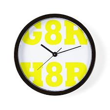 G8R Wall Clock