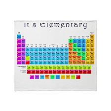 It's Elemental blk. Throw Blanket