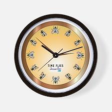 TimeFlies Wall Clock