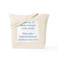10 Binary People Tote Bag