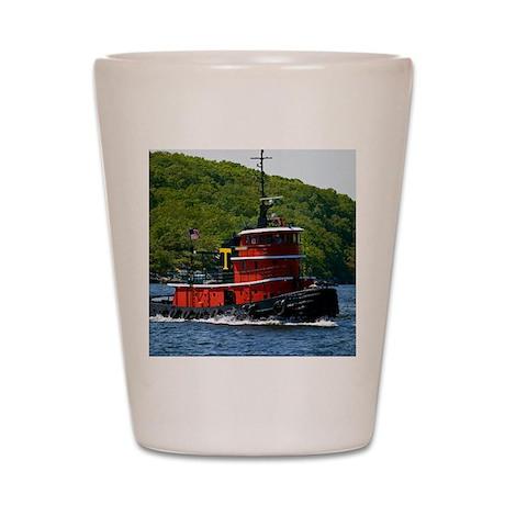 (15s) sub tug Shot Glass