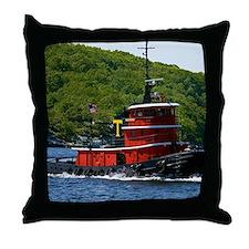(14) sub tug Throw Pillow