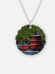 (14) sub tug Necklace
