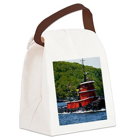 (14) sub tug Canvas Lunch Bag