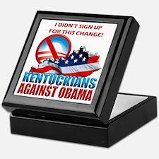 Kentuckians Against Obama Keepsake Box