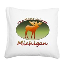 MooseIsLoose1010 Square Canvas Pillow