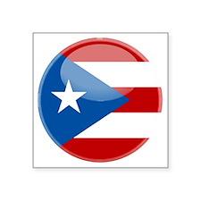 "puertorici Square Sticker 3"" x 3"""
