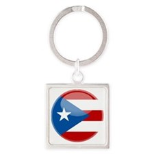 puertorici Square Keychain