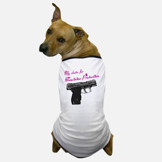 femprotect10x10_apparel copy Dog T-Shirt