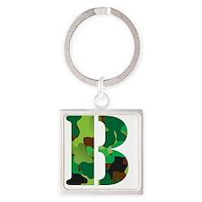 2-b Square Keychain