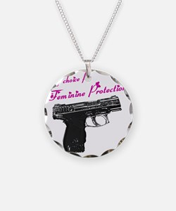 femprotect10x10_apparel copy Necklace