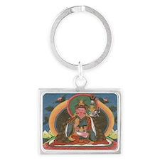 padmabuddha_tshirt Landscape Keychain