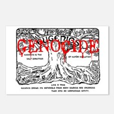 eugenics = genocide Postcards (Package of 8)