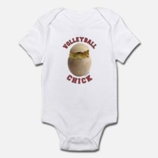 Volleyball Chick 2 Infant Bodysuit