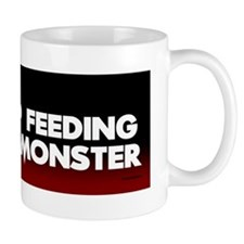 STOP FEEDING 10x3_sticker Mug