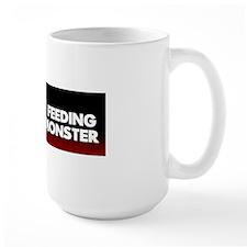 STOP FEEDING 10x3_sticker Mug