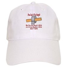 With 2x4 & Duct Tape Baseball Cap