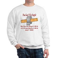 With 2x4 & Duct Tape Sweatshirt