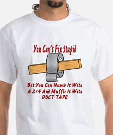 With 2x4 & Duct Tape Shirt