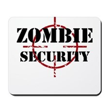 Zombie Security Mousepad