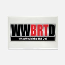 WWBRTD Rectangle Magnet