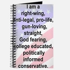 4-I AM A RIGHT WING ANTI-LEGAL PROLIFE GUN Journal
