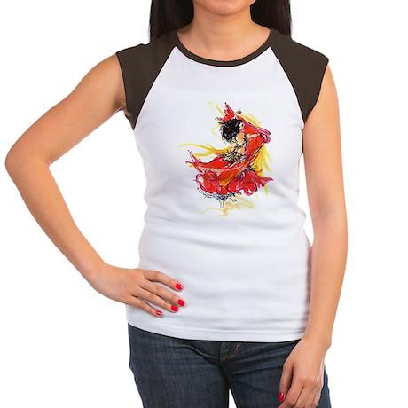 7 Women's Cap Sleeve T-Shirt