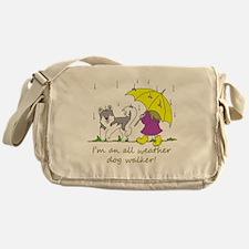 awdw_grey Messenger Bag