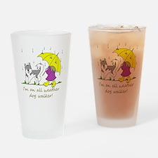 awdw_grey Drinking Glass