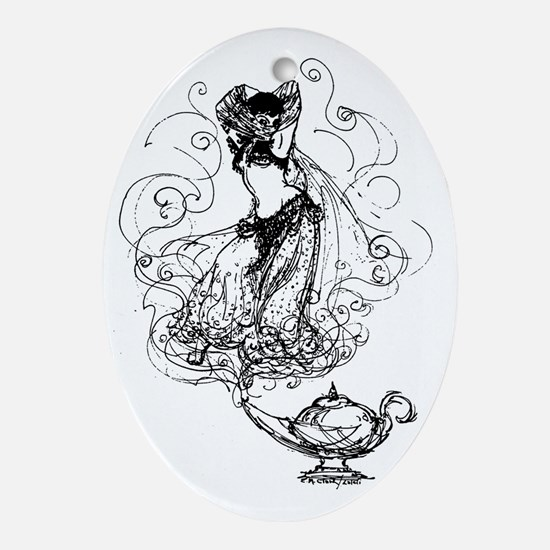 2 Oval Ornament