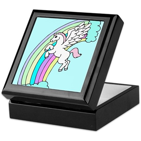 Retro Pegasus Keepsake Box