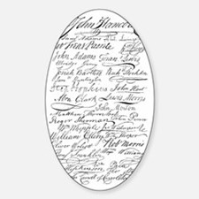 declaration signers Decal