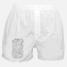 declaration signers Boxer Shorts