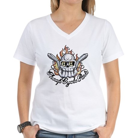 CCP_Tattoo Women's V-Neck T-Shirt
