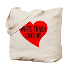 whitetrash Tote Bag