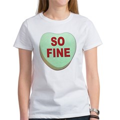 So Fine Valentine Candy Heart Tee