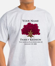 Purple Tree Family Reunion T-Shirt