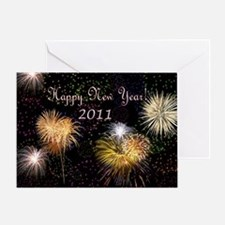 2-new year 1 Greeting Card