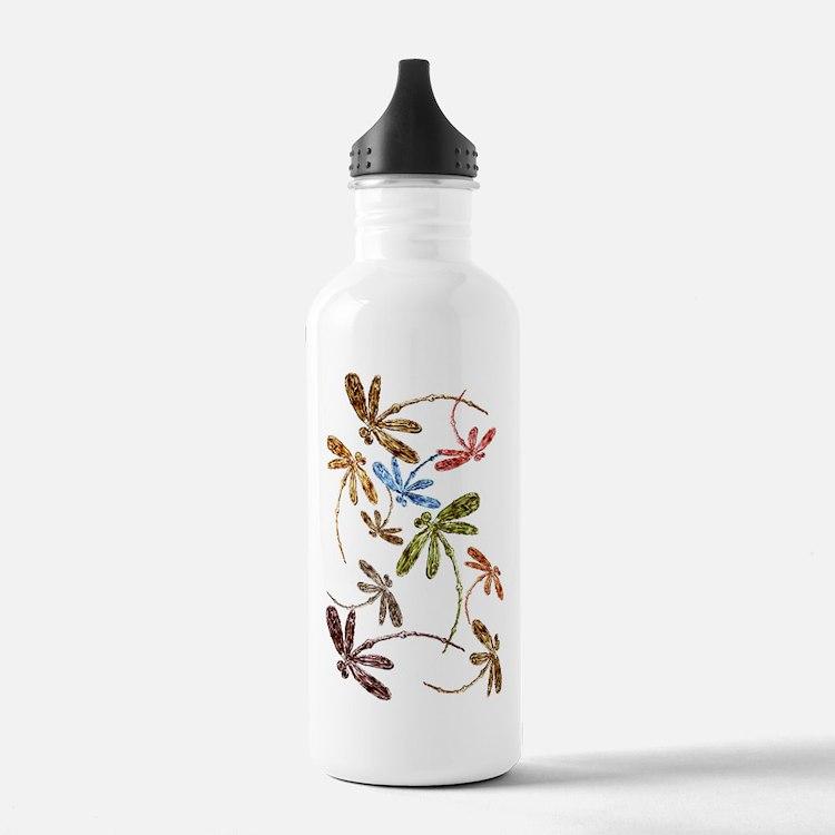Dragonfly Pop Sports Water Bottle