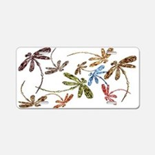 Dragonfly Pop Aluminum License Plate