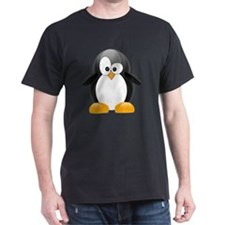my penguin black  T-Shirt