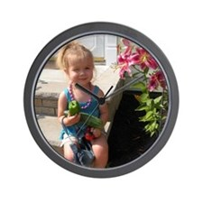 Reese with date Wall Clock
