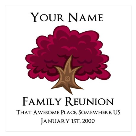 Family Reunion Invitations Family Reunion Announcements