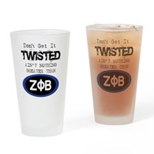 AINT NOTHIN GREATER ZETA Drinking Glass