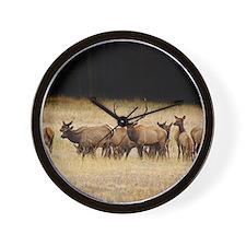 Elk 9x12 Wall Clock
